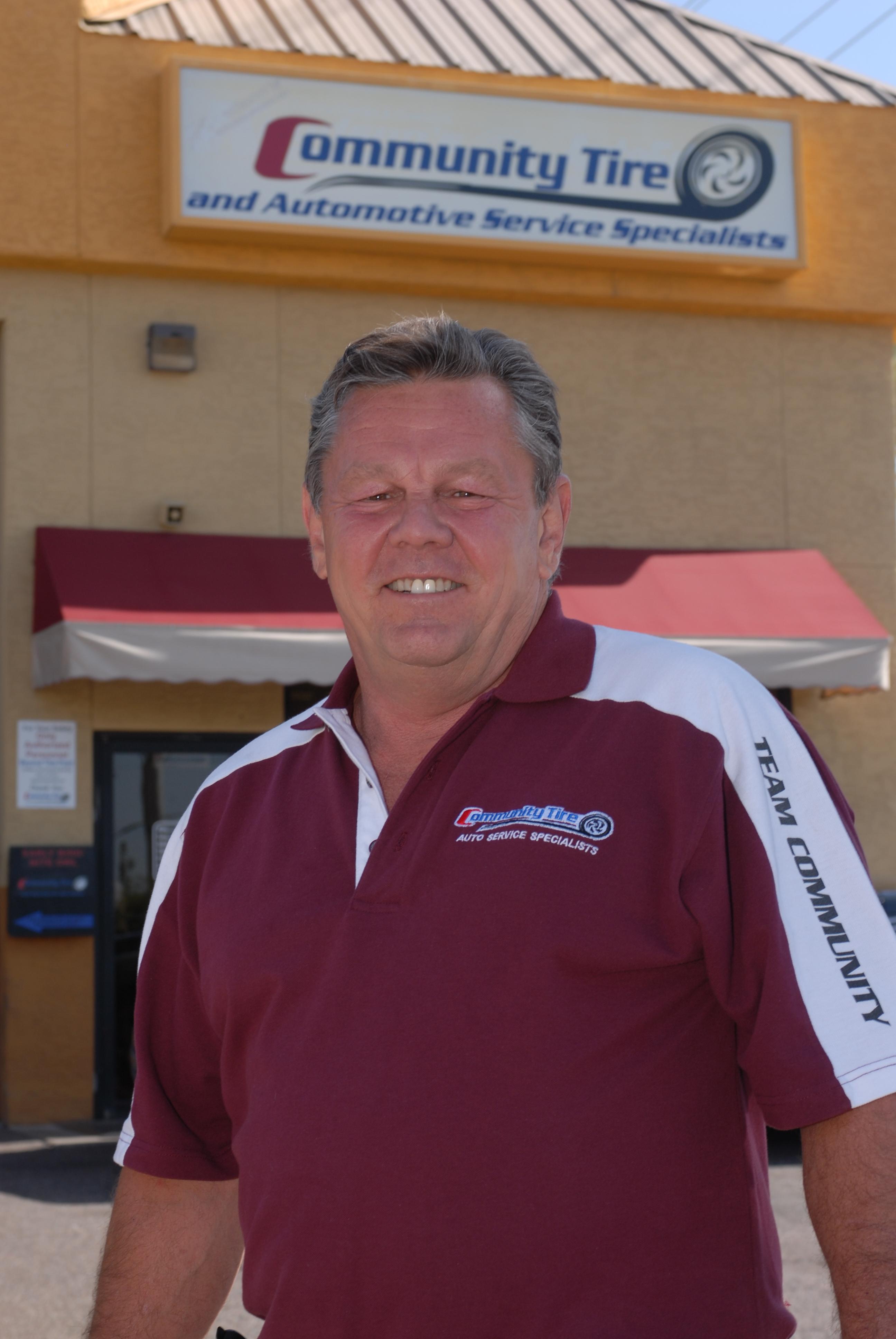 Howard J. Fleischmann Sr., Owner, Community Tire and Automotive Service Specialists.