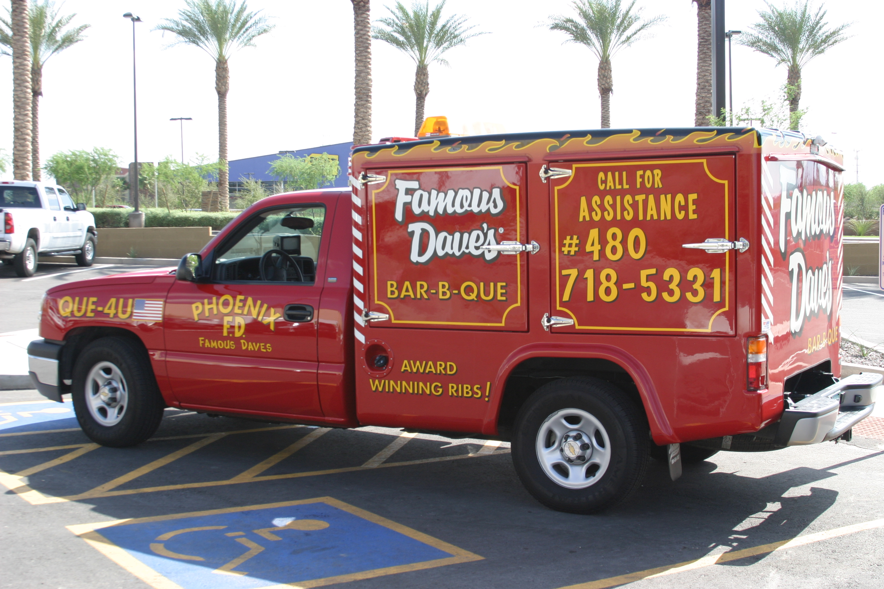 Look for a Famous Dave's Catering Truck on June 2!
