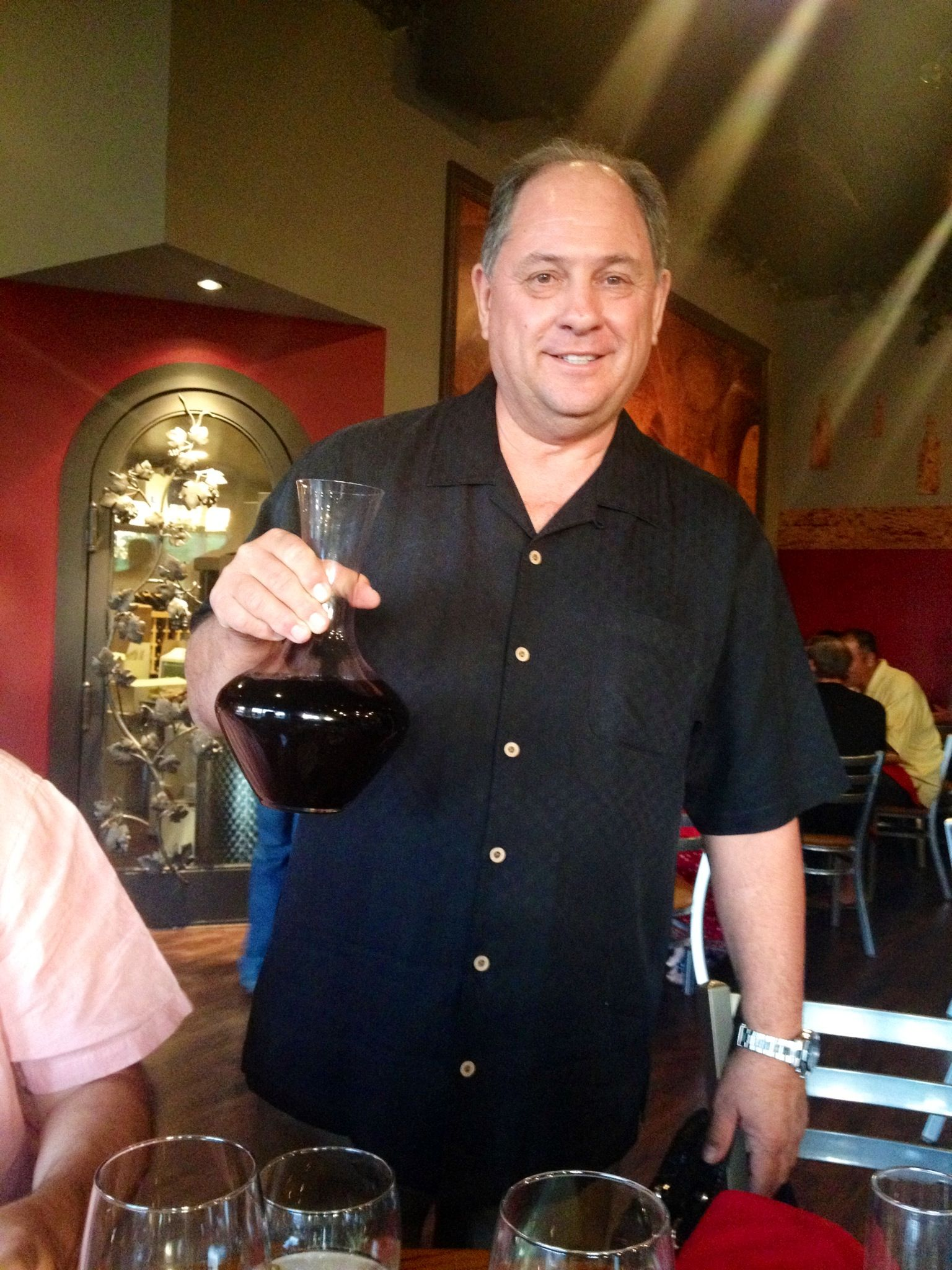 Frank Yaconis, Owner of Twisted Rose Winery and Eatery in Scottsdale, AZ